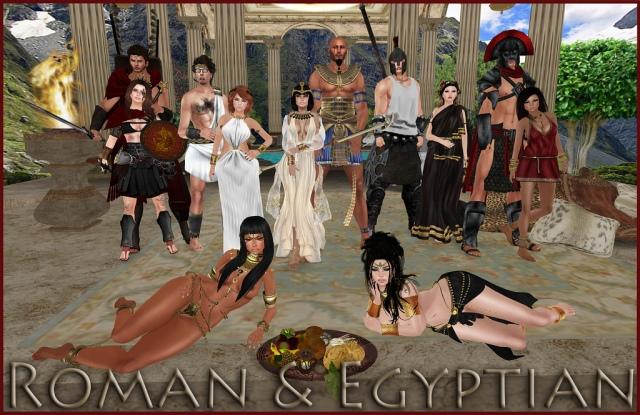 Oct. 9 Romans & Egyptians