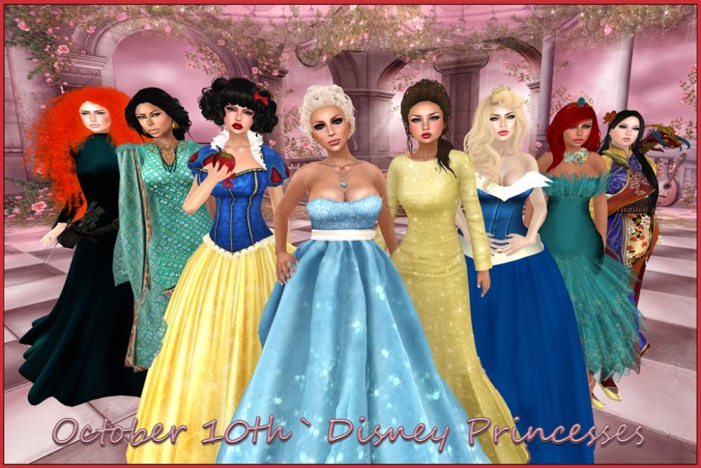 Oct. 10 Disney Princesses