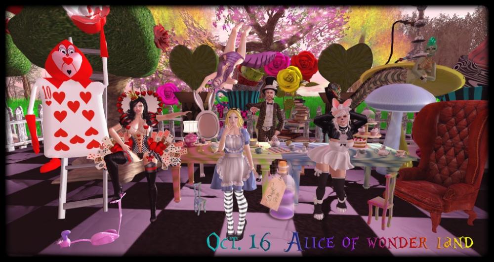Oct. 16 Alice in Wonderland