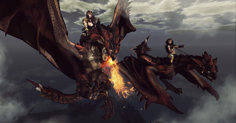 Dragon riders~