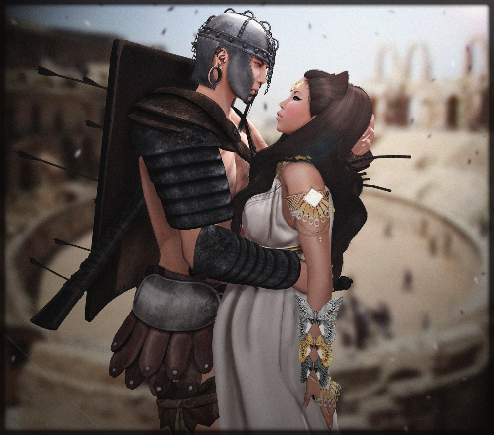 Her Gladiator, Her protector