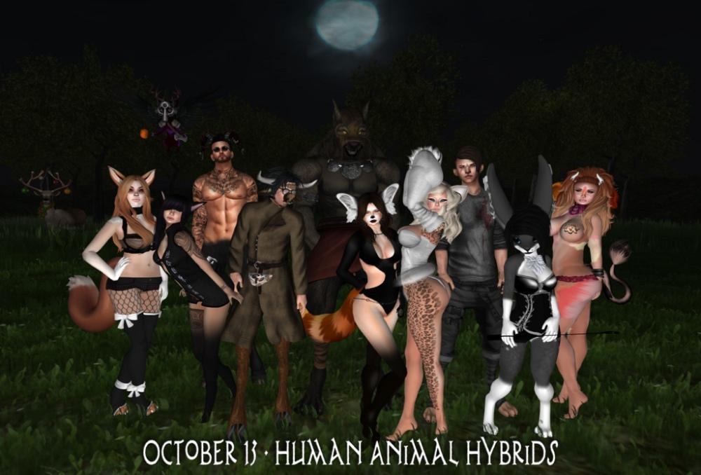 Oct. 13 Human Animal Hybrids