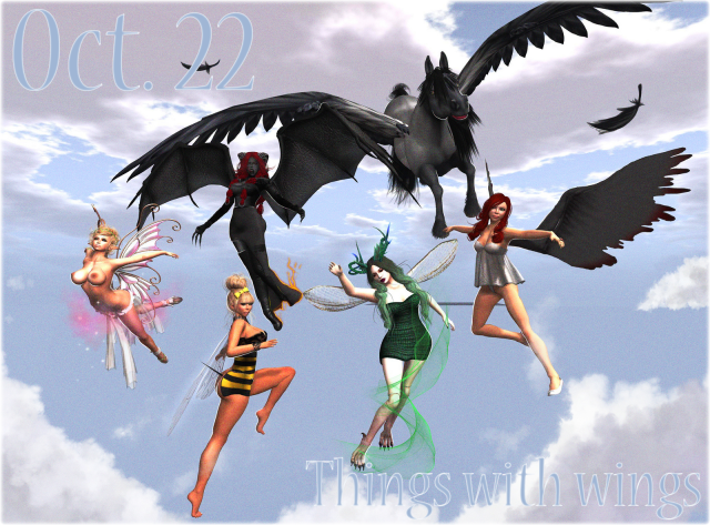 Oct. 22 Things with wings